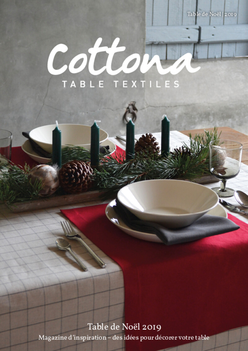 Cottona Table de Noël 2019