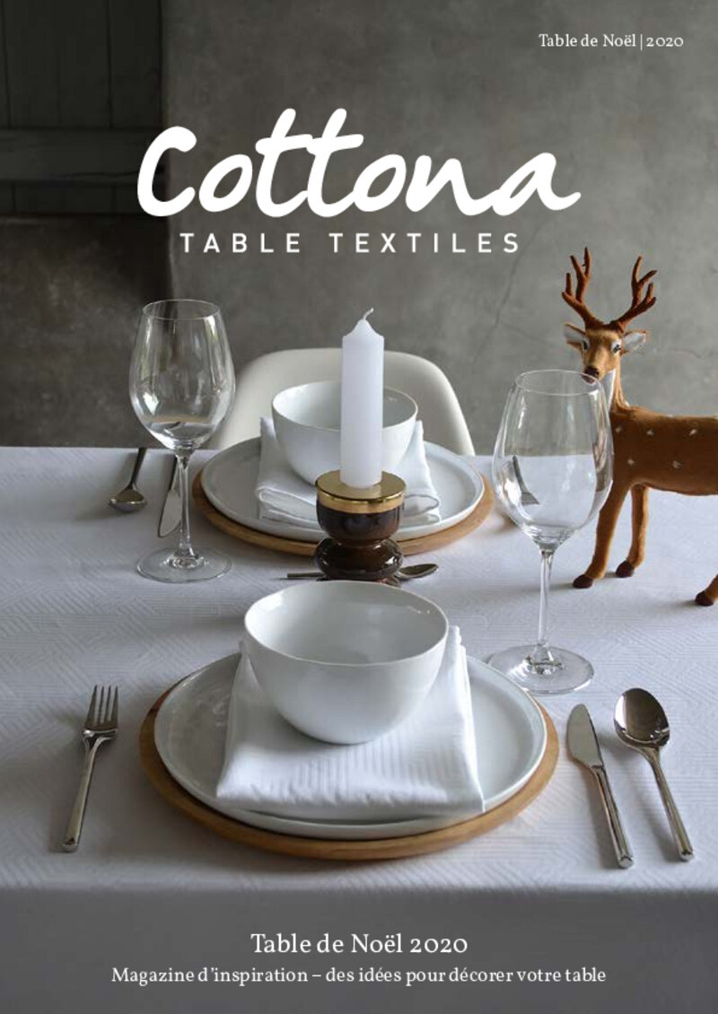 Cottona Table de Noel 2020